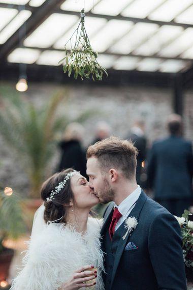Mistletoe Kisses For Winter Wedding