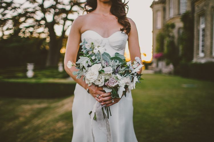 Bridal Bouquet | Bride in Karen Willis Holmes Gown | Hedsor House Wedding | RS Brown Photography