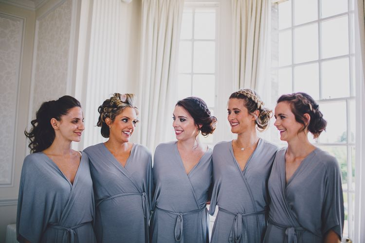 Bridesmaids Getting Ready | RS Brown Photography
