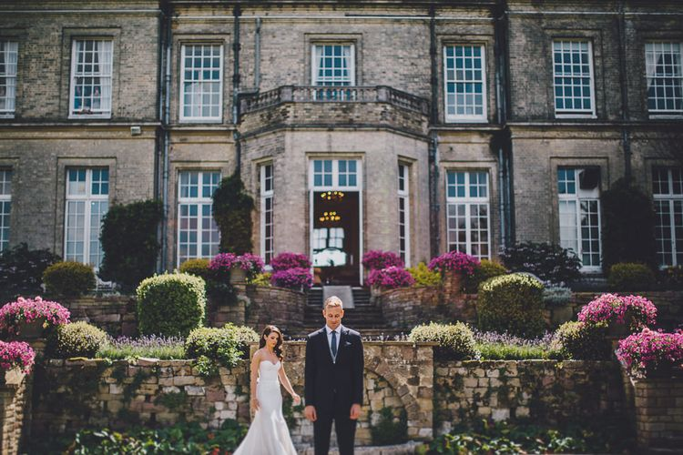 First Look | Bride in Karen Willis Holmes | | Hedsor House Wedding | RS Brown Photography