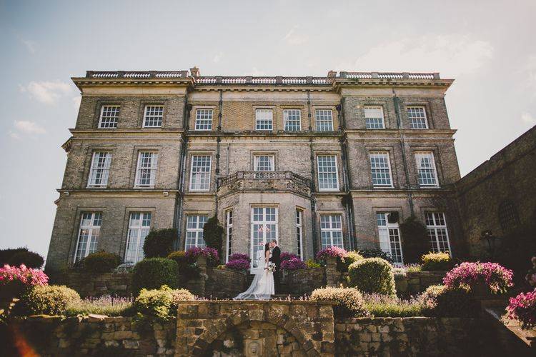 Bride in Karen Willis Holmes Gown | Groom in Whitfield & Ward Suit | Hedsor House Wedding | RS Brown Photography