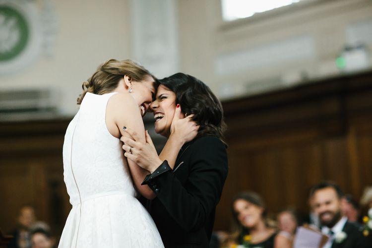 Bride & Bride Wedding Ceremony