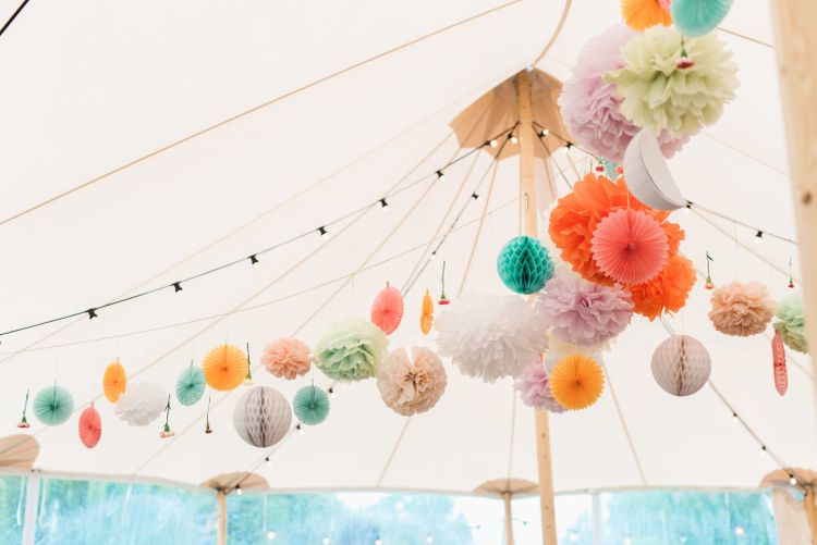 Wtoo by Watters Bride For A Colourful PapaKata Sperry Tent Wedding With Images By Emma Pilkington