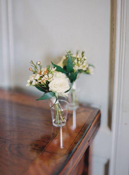 #crowedding The Garden Flower Company Button holes