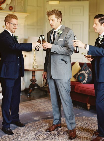 #crowedding Cad & The Dandy Grooms Suit