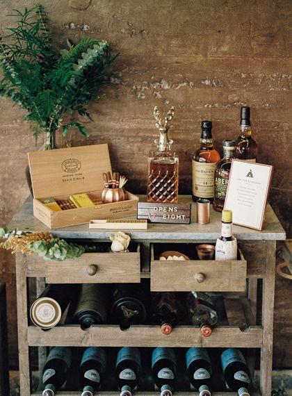 #crowedding whiskey and cigar bar