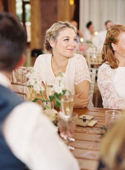 #crowedding White bridesmaid dresses