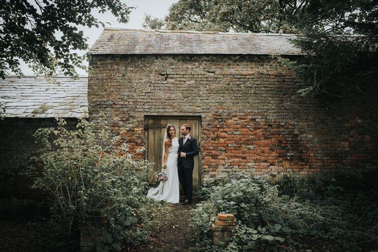 Bride & Groom Country Portrait