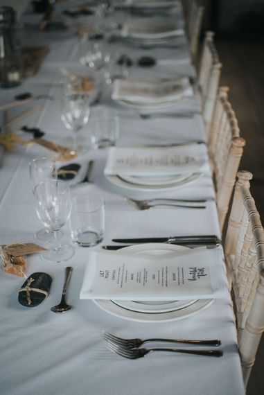 Place Settings | Elegant Reception