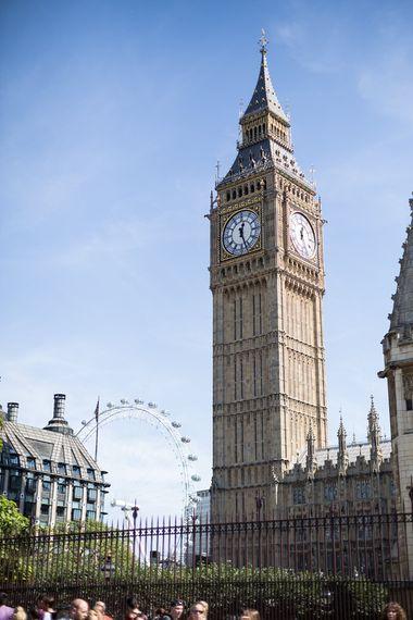 London Sights | Houses of Parliament | London Eye