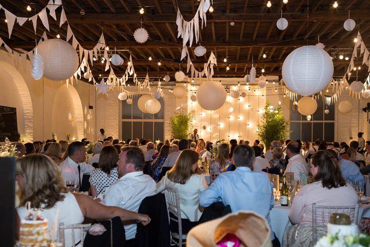 Trinity Buoy Wharf Wedding Reception