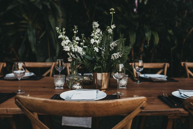 Outdoor Woodland Ceremony & Jex Estate Reception in South Africa | Michigan Behn Photography