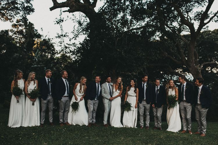 Wedding Party | Outdoor Woodland Wedding in South Africa | Michigan Behn Photography