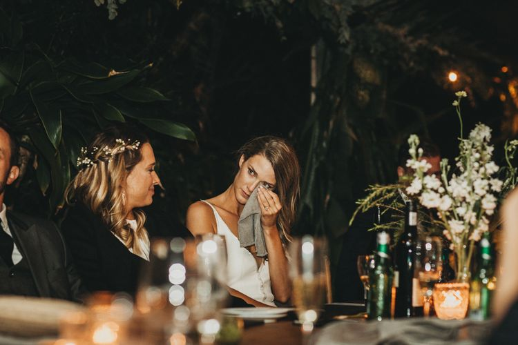 Speeches | Outdoor Woodland Wedding in South Africa | Michigan Behn Photography
