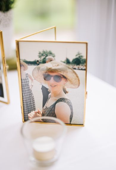 Gold Frame Wedding Pictures | Rachel Joyce Photography