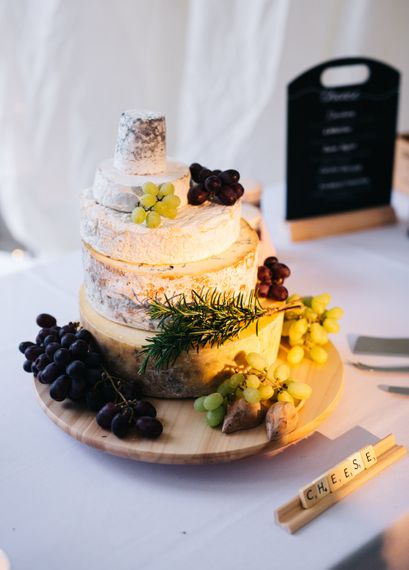 The Fine Cheese Company Cheese Tower | Relaxed Country Pub Wedding | Rachel Joyce Photography