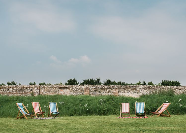North Hidden Barn Deckchairs