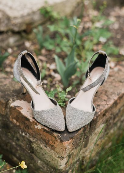 Metallic Kurt Geiger Wedding Shoes