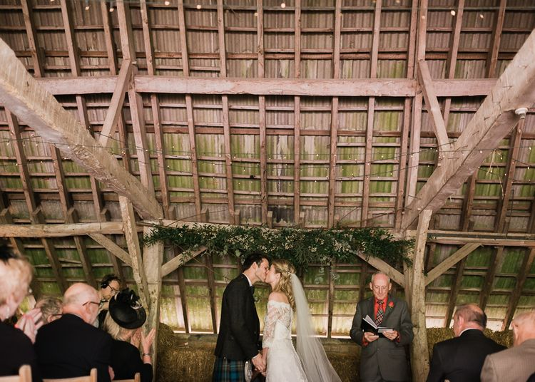 Humanist Wedding Ceremony At North Hidden Barn
