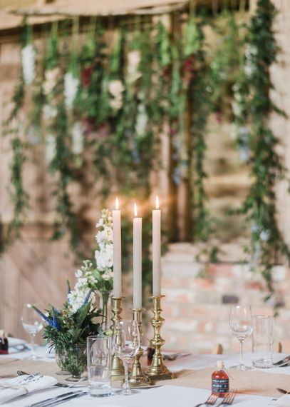 Festoon Lights For A Rustic Wedding At North Hidden Barn