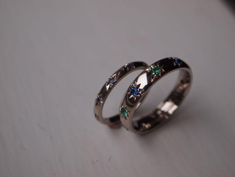 """Wedding Bands By <a href=""""https://www.ellieair.co.uk/"""" rel=""""noopener"""" target=""""_blank"""">Ellie Air Jewellery</a>"""
