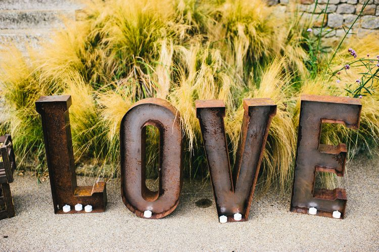 LOVE Sign For Wedding Day