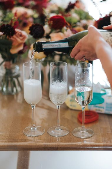 Champagne | Intimate Ceremony at Stoke Newington Town Hall | Miss Gen Photography