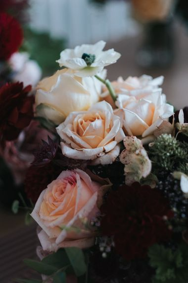 Pale Pink Roses | Intimate Ceremony at Stoke Newington Town Hall | Miss Gen Photography