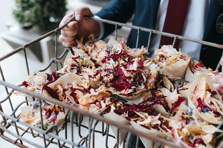 Dried Flower Confetti | Laid Back Pub Wedding at The Londesborough | Miss Gen Photography