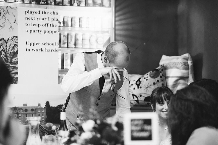 Speeches | Laid Back Pub Wedding at The Londesborough | Miss Gen Photography