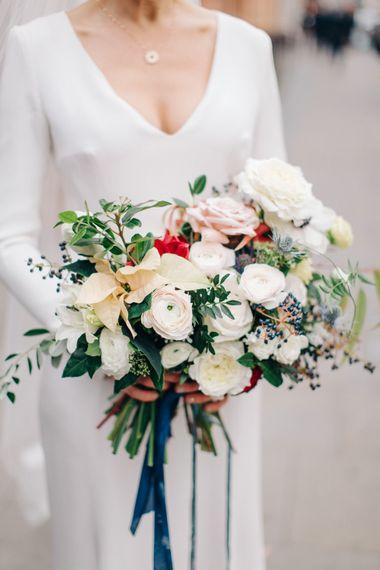 Elegant Bridal Bouquet by Palais Flowers