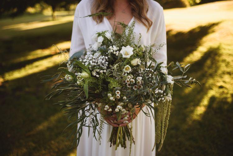 Oversized Organic Bridal Bouquet