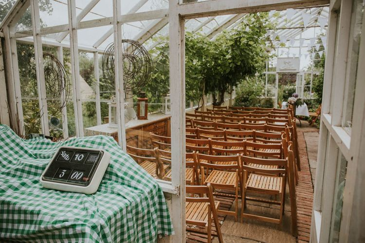 Green House | Rustic Tipi Wedding at The Grange, Belluton, Pensford | Images by Felix Russell-Saw & Ryan Winterbotham