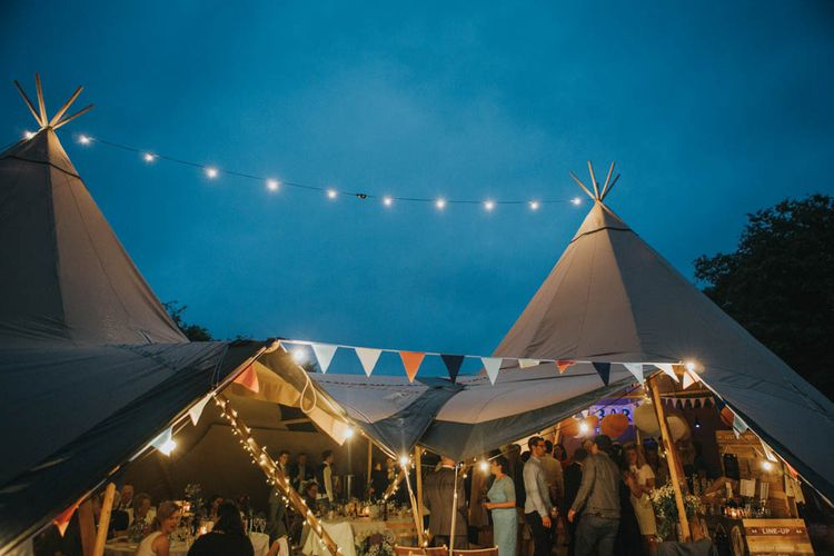 Rustic Tipi Wedding at The Grange, Belluton, Pensford | Images by Felix Russell-Saw & Ryan Winterbotham