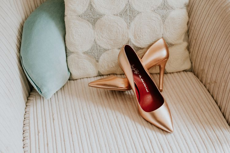 Rose Gold Shoes of Prey