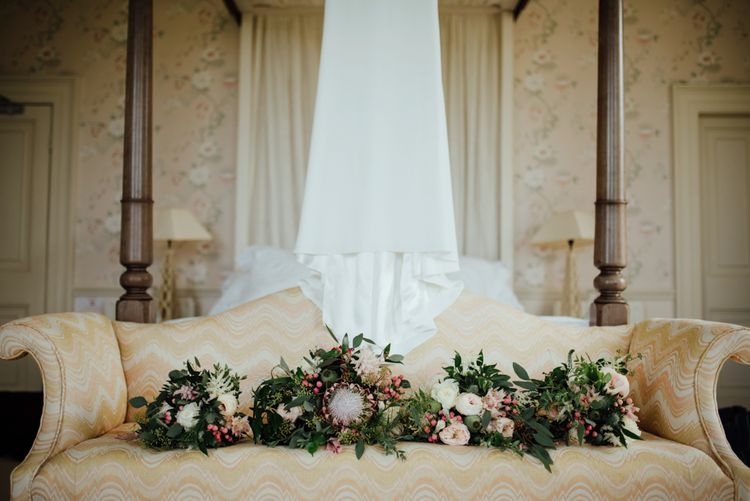 Bridal Preparations | Protea Bouquets | The Lou's Photography