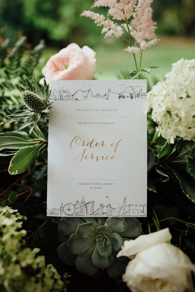 Order of Service Wedding Stationery | The Lou's Photography