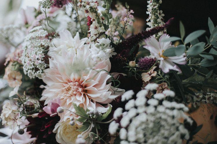 Blush Flowers   Country Wedding at Farmers Barns, Rosedew Farm, Cardiff   Grace Elizabeth Photography and Film