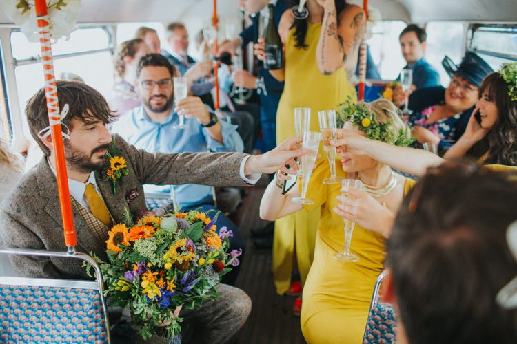 Bright DIY Back Garden Wedding | Lisa Webb Photography