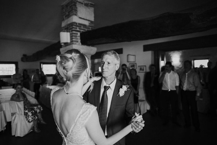 Bride & Father of The Bride Dance | Intimate Love Memories Photography