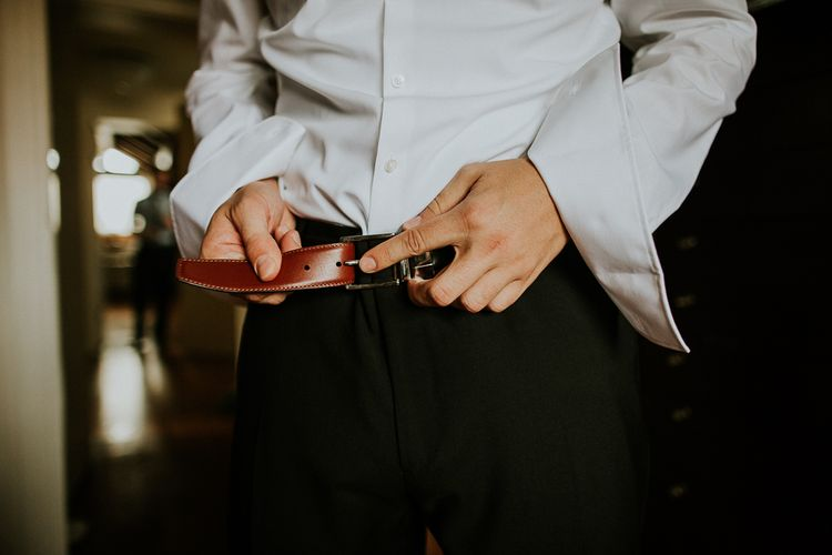 Groom Getting Ready | Intimate Love Memories Photography