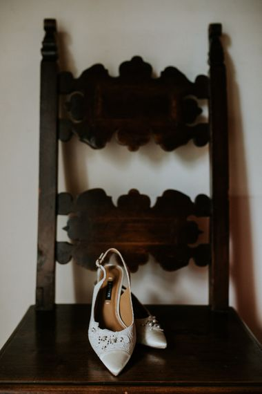 Kay Unger Bridal Shoes | Intimate Love Memories Photography