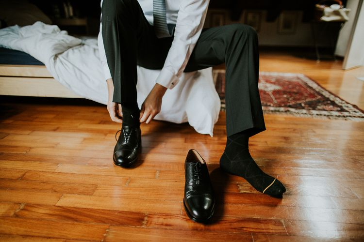 Grooms Fratelli Rossetti Shoes | Intimate Love Memories Photography