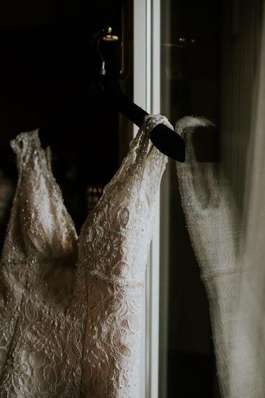 David's Bridal Wedding Dress | Intimate Love Memories Photography