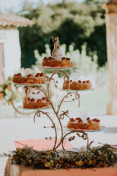 Wedding Cake | Intimate Love Memories Photography