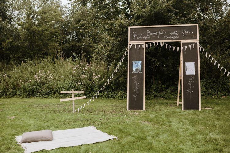 DIY Photobooth For Wedding