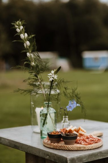 Festival Wedding At Campsite In Holland With A Picnic Reception & Images From Green Antlers Photography