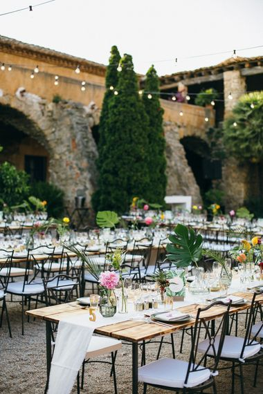 Tropical Themed Wedding in Costa Brava