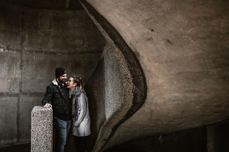 London Engagement Shoot At The Barbican