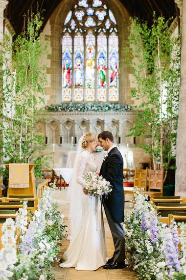 Lucy MacNicoll Floral Design For Classic Church Wedding